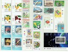 Malaysia Early Stamps and Sheet Set, MNH