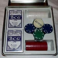 CARTE DA GIOCO - PLAYING CARDS / SET DA POKER - CARTE - FICHES