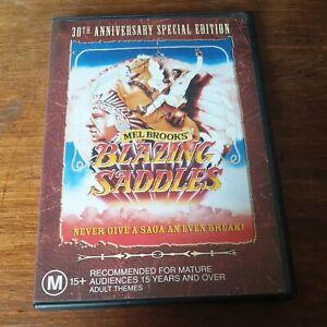 Blazing Saddles DVD R4 Like New! FREE POST