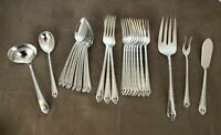 """Holmes & Edwards Inlaid IS Silverplate """"LOVELY LADY"""" Flatware Silverware"""