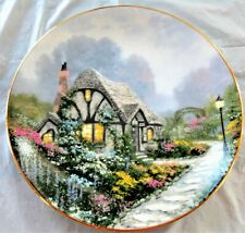 1991 Knowles Collector'S Plate Thomas Kincake Chandlers Cottage #9435E