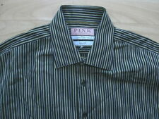 Cotton Thomas Pink Long Formal Shirts for Men