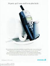 PUBLICITE ADVERTISING 026  1997  Ericsson  GF 788  téléphone mobile       170216