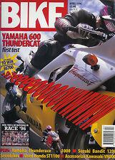 Bike April 96  Thundercat, Thunderace, GSF600 Bandit, XJ600 VN1500 VN800