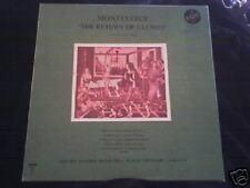 MONTEVERDI Return of Ulysses Ewerhart 3 LP VOX Box NM
