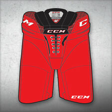 "New CCM Crazy Light U+ CL ice hockey pants senior sr small sm red waist 28""-32"""