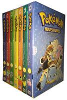 Pokemon Adventures Red & Blue Box Set Volumes 1-7 Book  Hidenori Kusaka NEW PB