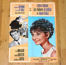COME RUBARE UN MILIONE DI DOLLARI E VIVERE FELICI manifesto poster Hepburn 1966