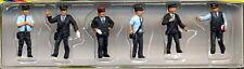 Noch 15272 Set 6 figure ferrovieri capostazione FS personaggi diorama H0 1:87