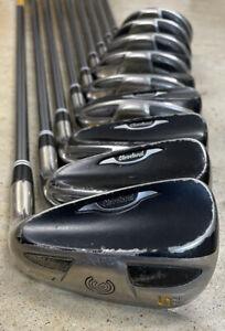 Cleveland HiBore XLi Iron Set 3-SW RH Hybrid Golf Clubs Reg Flex Graphite Shafts