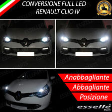 CONVERSIONE FARI FULL LED RENAULT CLIO IV 4 6000K LED CANBUS ALTA LUMINOSITA'