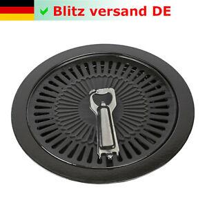 Grillplatte 30,5 cm für Camping Kocher Gaskocher Grillaufsatz BBQ Kochplatte NEU