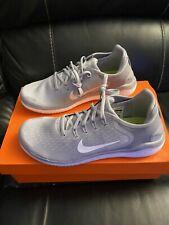 New Nike Free RN 2018 Running Shoe Men's Size 9.5 Wolf Grey 942836-003