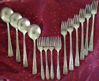 WM Rogers Sectional IS silverplate Louisiana pattern (14) pieces plus bonus !