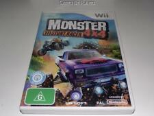 Monster 4x4 Stunt Racer Nintendo Wii PAL *No Manual* Wii U Compatible Trucks