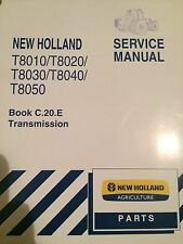 NEW HOLLAND T8010/ T8020/T8030/T8040/T8050 SERVICE MANUAL TRANSMISSION