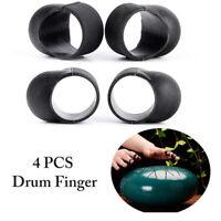 4Pcs Drum Finger Sleeves Knocking Playing Finger Cover Drum Finger Picks