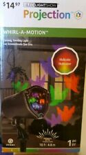 NEW Halloween LightShow Projector Multi-color Ghosts Whirl A Motion outdoor