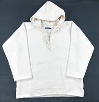 Levis Made & Crafted Woven Hoodie Sweatshirt Mens Heavyweight 3/4 Sleeve $198
