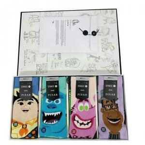 Stance Pixar Pete Docter Box Up Inside Out Soul Monsters Inc Crew Socks L Men's