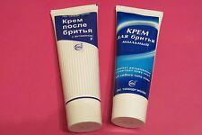 "Russian after shave cream with vitamin F and shaving cream factory ""SVOBODA"""