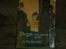 Degas : The Artist's Mind by Theodore Reff (1976, Hardcover)