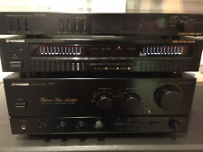 Pioneer A757 Mark II Reference Stereo Amplifier GR-777 10-Band Graphic Equalizer