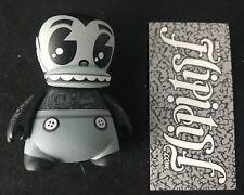 "Vtg Bic Buddy 3"" Signed Mad Toy Vinyl Figure Kidrobot Jeremy Madl Limited Rare"