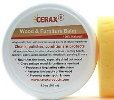 Wood Furniture Balm and Cleaner-cleans, polishes, restore protects and more...