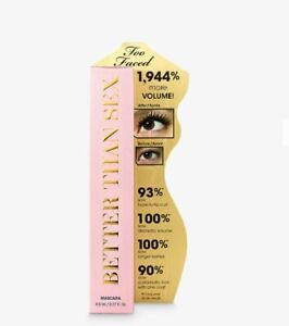 Too Faced Better Than Sex Mascara, Black  8ml (Same Day Dispatch)