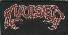AVULSED logo - WOVEN SEW ON PATCH official merchandise