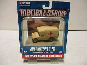 Corgi Tactical Strike 2003 Operation Iraqi Freedom Humvee M997A2 US Army
