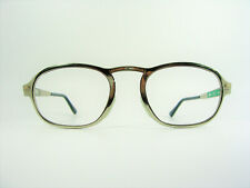 Luxury eyeglasses, oval, square, Platinum plated, frames, NOS, hyper vintage