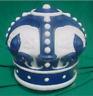 Reproduction Blue Crown Gas Pump Globe / GAS PUMP GLOBES / BLUE CROWN *Gas & Oil