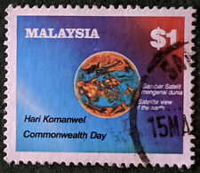 Stamp Malaysia 1983 $1 Commonwealth Day Used