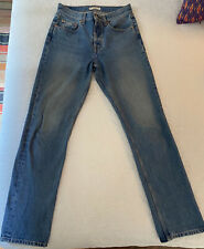 """VINTAGE 90s Y2K NWT DEADSTOCK DICKIES BAGGY WOMENS CARPENTER JEANS SZ 8 TALL 27/"""""""