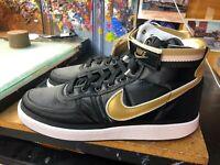 Nike Vandal High Supreme Black/Metallic Gold Size US 13 Men's AH8652 002 New
