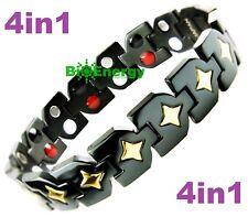 Magnet  Armband Energy Power Bracelet Health wristband Titanium 4in1