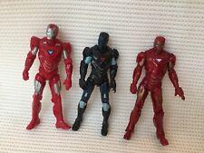 "Marvel Universe/INFINITE/lol Figura 3.75"" Iron Man X3 Lote"