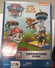 Paw Patrol Nickelodeon Race To The Rescue Adventure Board Game  New Sealed (6B)