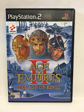 AGE OF EMPIRES II  the age of king - SONY PLAYSTATION 2