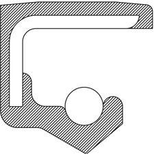 Manual Trans Main Shaft Seal-4WD, 5 Speed Trans National 1209