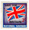 (I.B) Cinderella Collection : National Savings - Union Jack 2/-