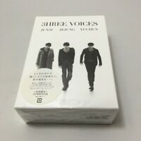 JYJ JUNSU/YUCHUN/JEJUNG 3HREE VOICES JAPAN DVD BOX