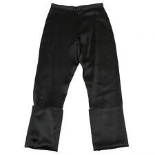 (SALE) Yohji Yamamoto FEMME Silk rayon shiny pants Size SS(K-27361)