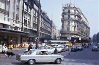 Paris France Europe Street City Life Traffic 1972 Vintage 35mm Kodachrome Slide