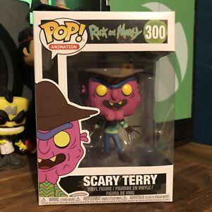 Funko POP Vinyl Rick & Morty Scary Terry #300 + FREE POP PROTECTOR!