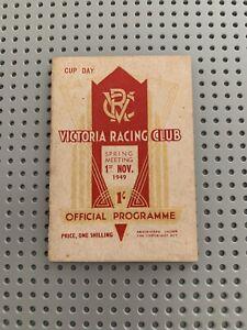 1949 VRC Melbourne Cup Programme