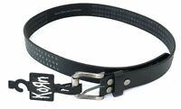 Korn Studded Black Leather Belt New Official Band Merch