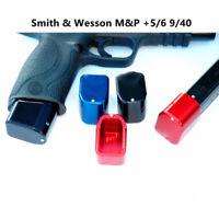 Tactical Aluminum Magazine ExtensionBase Pad for M&P +5/6 9/40